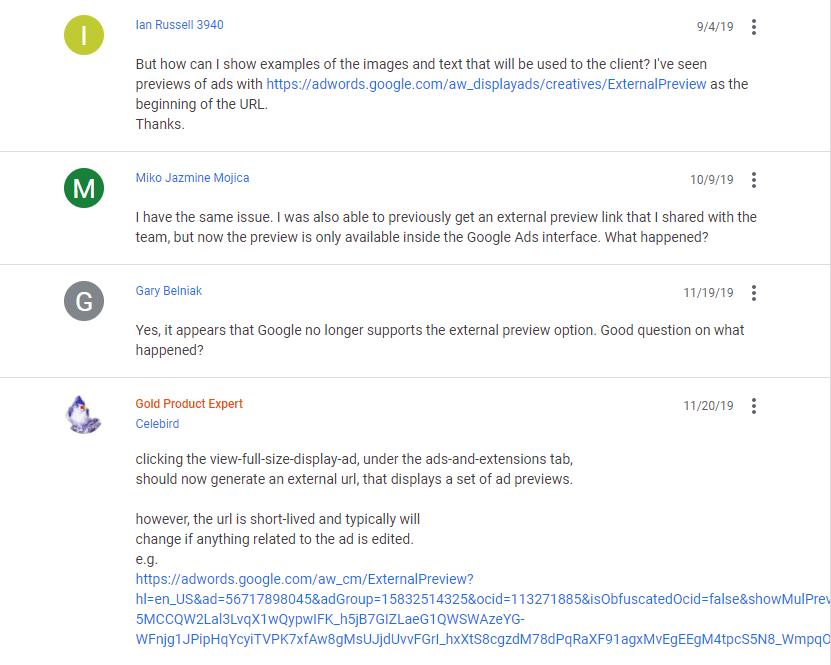 google ads help community forum