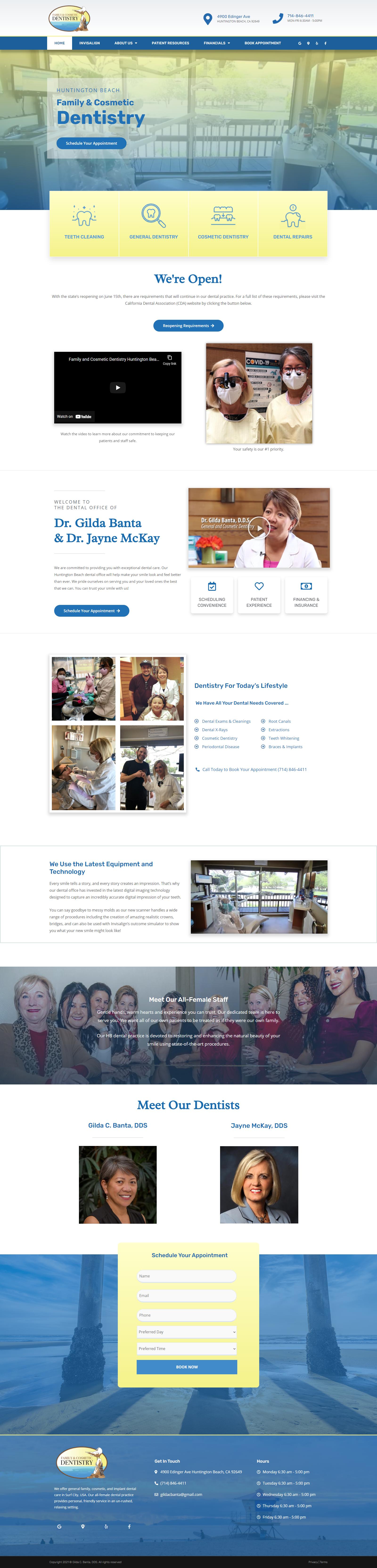 Gilda C Banta Website